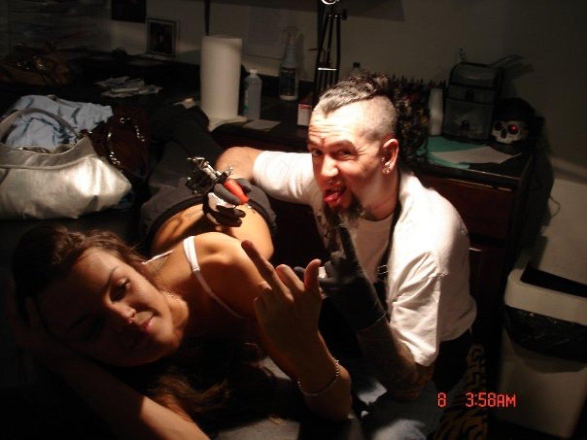 Tattoo anal pics