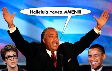 Halleluia Taxes Amen