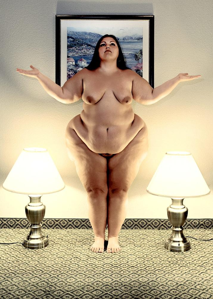 фото толстухи ню