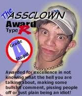 Assclown Award