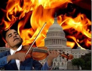Obama_whitehouse on fire