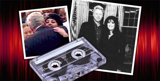 Secret clinton and lewinsky sex tape leaked