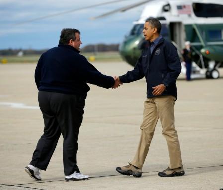 Barack Obama, Chris Christie