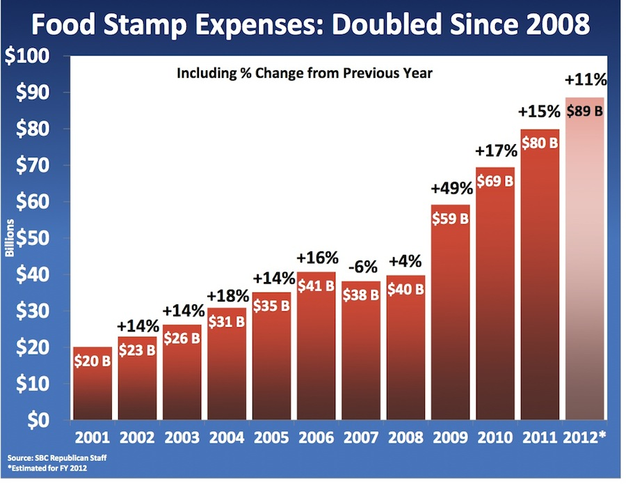 How Many People Abuse The Food Stamps System