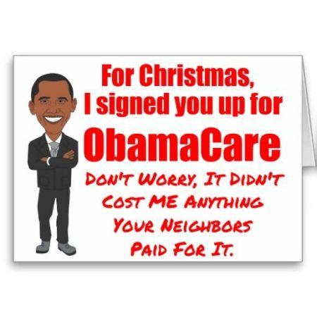 Obamacare for Christmas 01