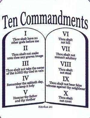 The Ten Commandments 01