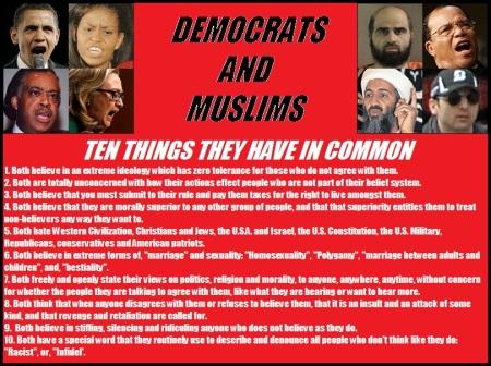 Democrats and Muslim 01