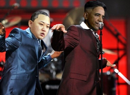 HaircutJong Un and obama