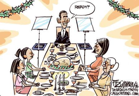 Obama Thanksgiving 00