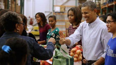 Obama Thanksgiving 07