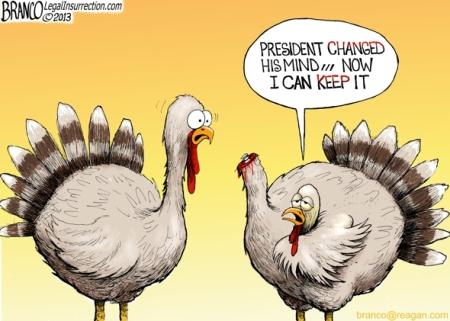 Obama Thanksgiving 09