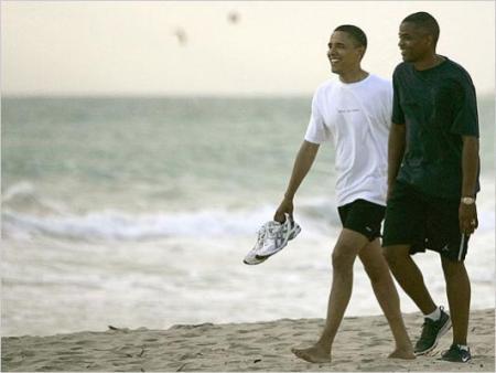 Obama and Reggie