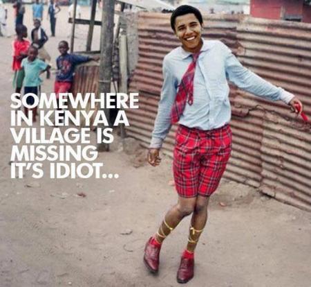 The Idiot President 01