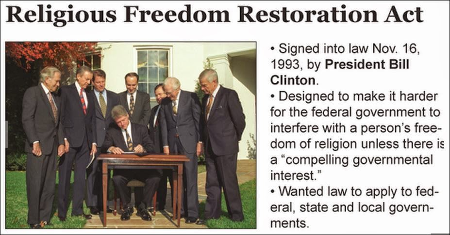 Indiana religious freedom restoration act: What you need to know