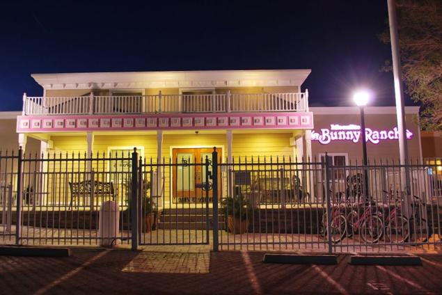 The Moonlite Bunny Ranch in Nevada is one of seven legal brothels owned by  Dennis Hof in the state. In total they make up roughly 40% of the brothels  in ...