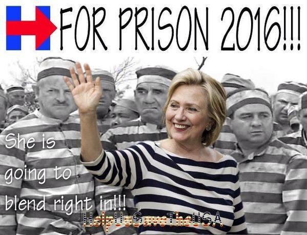Image result for hillary for prison infowars
