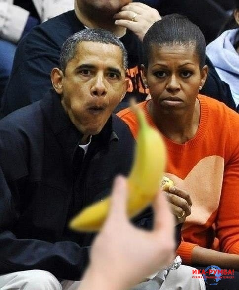 The Obama pictures thread Obama-banana