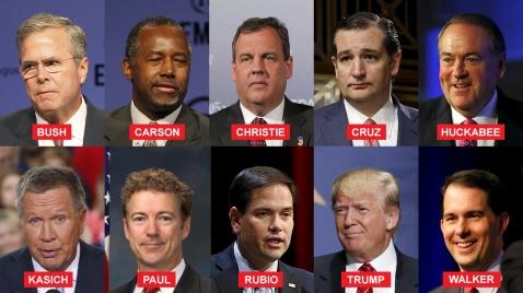 Republican TV debate
