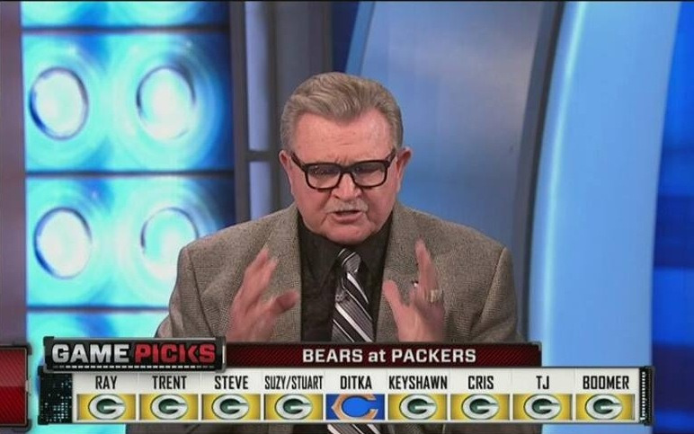Commercials andelinos weblog what a heartbreaking news no one can believe legendary da coach mike ditka did a commercial wearing a green bay packers sweater aloadofball Gallery