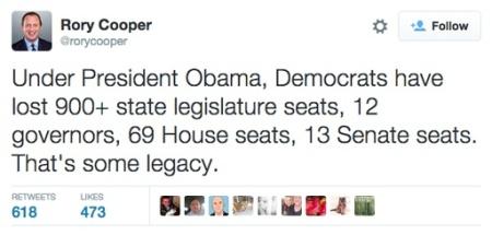 Rory Cooper Tweet
