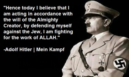 Image result for adolf hitler christianity quote