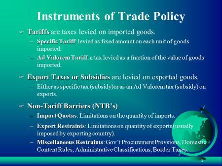 Tariff Taxes 00