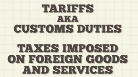 Tariff Taxes 03