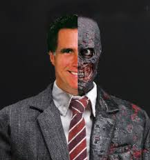 Two Face Mitt Romney 01