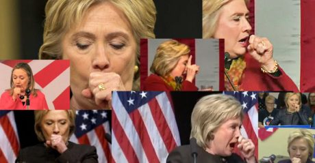 Hillary's Coughing Fit 04
