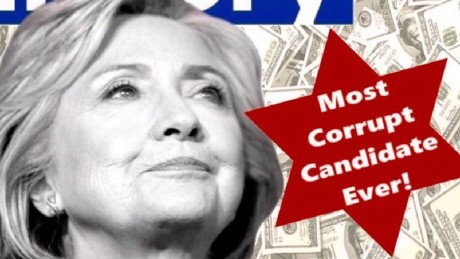 Corrupt Hillary Clinton 01